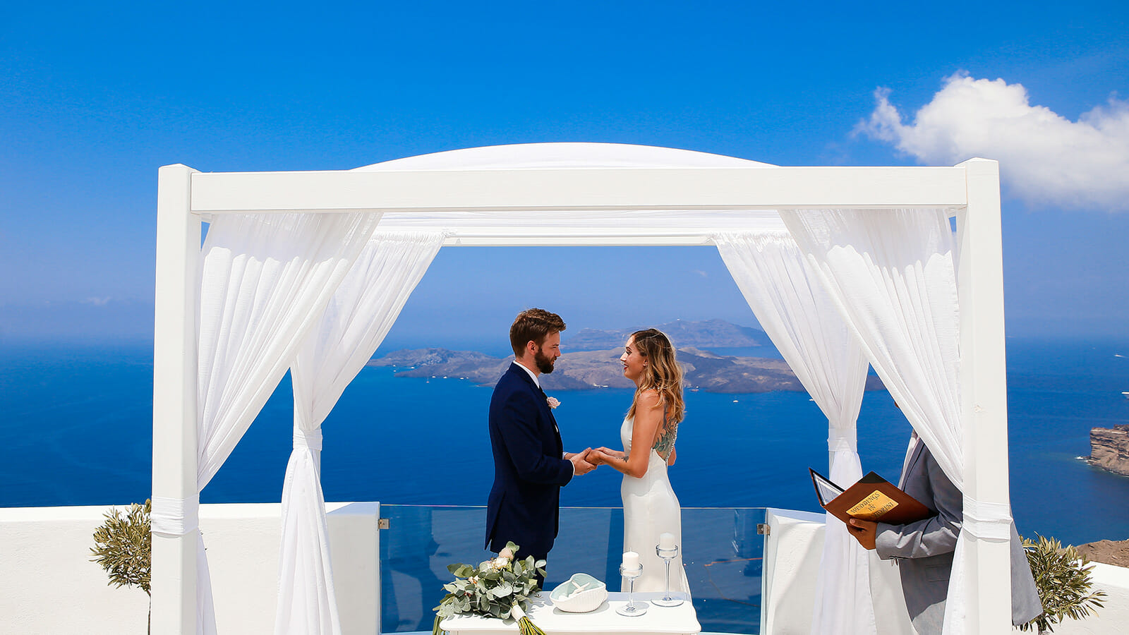 Aegean Dream Weddings - Weddings In Santorini & Other Greek Islands