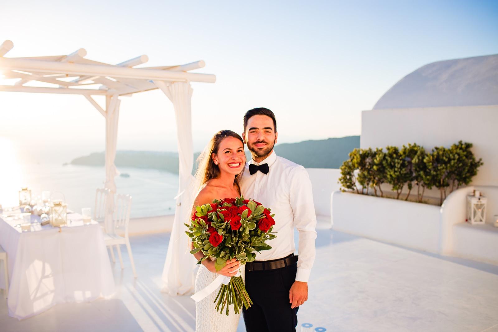 Santorini Wedding Proposals - Aegean Dream Weddings