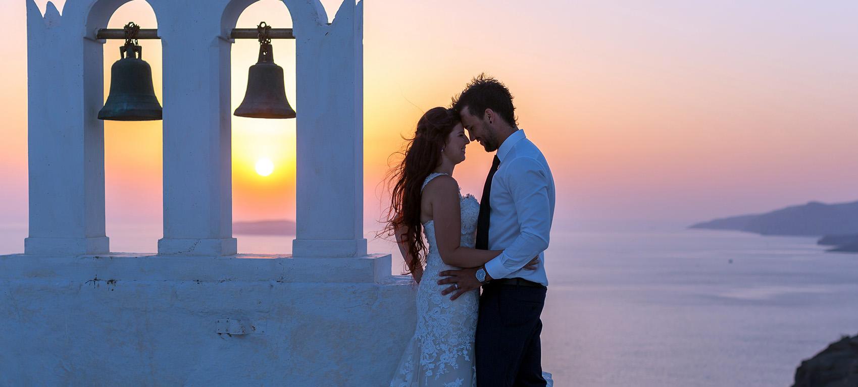 Symbolic Wedding Santorini